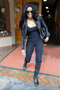Ciara - Candids Out & About in LA (1/23/09)