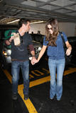 Kate Beckinsale and her husband Len Wiseman out for lunch and some shopping, April 16