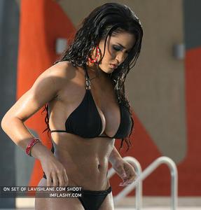 >>> Rosa Acosta <<< Swim pool photo shoot